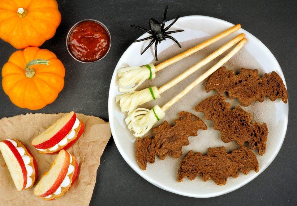 healthy snacks Halloween